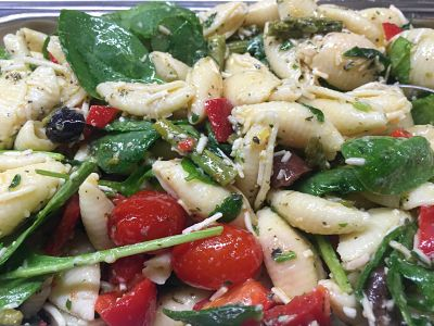 Greek Islands Pasta Salad