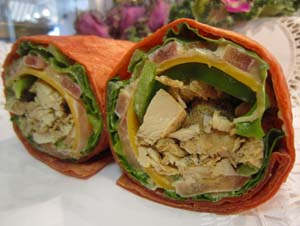 This delicious wrap is great!